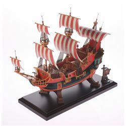 Fantasyland Pirate Ship Restaurant Replica.