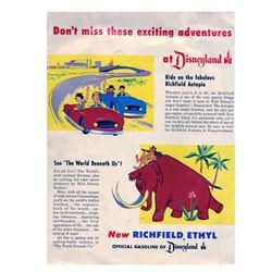"Signed ""Mickey Mouse Club Circus"" Souvenir Program."