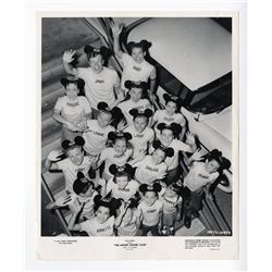 Mouseketeers Signed Photo.