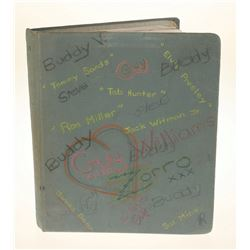 Annette Funicello's School Notebook.