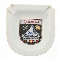 Pair of (2) Matterhorn Ashtray Product Samples.