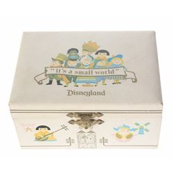 """It's a Small World"" Music & Jewelry Box."