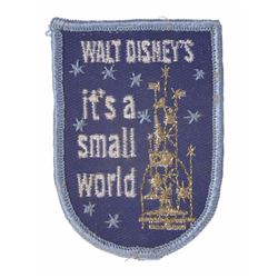 "World's Fair ""It's a Small World"" Cast Member Patch."