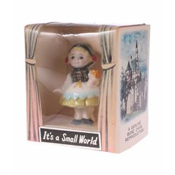 """It's a Small World"" Bone China Figurine in Box."
