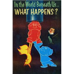 """In the World Beneath Us... What Happens?"" Richfield Oil Exhibit Pamphlet."