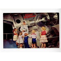 Disneyland Kaiser Aluminum Telescope Postcard.