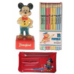 Disneyland Assorted Pencil Set.