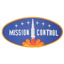"""Mission to Mars"" Animatronic Uniform Jacket Patch."