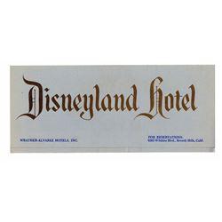 Disneyland Hotel Pre-Opening Brochure.