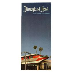 Disneyland Hotel Information Flyer.