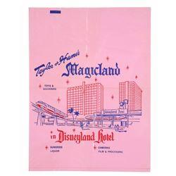 Taylor & Hume's Magicland Plastic Bag.