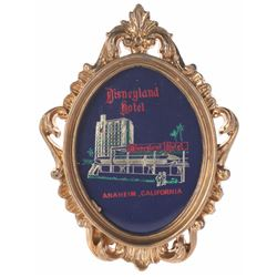 Disneyland Hotel Wall Plaque in Box.