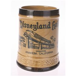 Disneyland Hotel and Monorail Souvenir Mug.