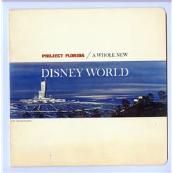 """Project Florida: A Whole New Disney World"" Concept Book."