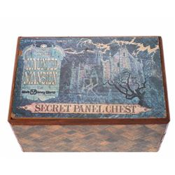 Large Haunted Mansion Secret Panel Chest .