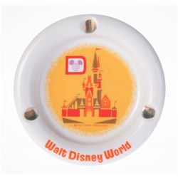 Walt Disney World Ceramic Ashtray.