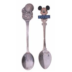Collection of (2) Walt Disney World Spoons.