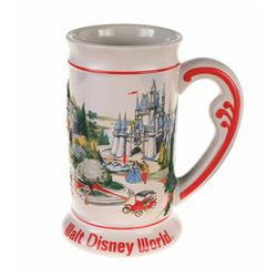 Ceramic Beer Stein - Walt Disney World Main Street.