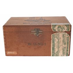 Walt Disney World Wooden Cigar Box.