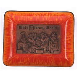 Ceramic Wood-Look Country Bear Jamboree Tray.