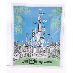 Textured Glass Square Walt Disney World Tray.
