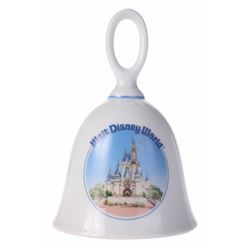 Ceramic Cinderella Castle Bell.