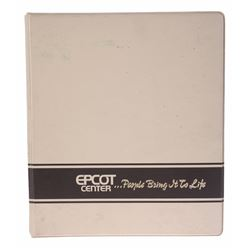 Epcot Center Pre-Opening Management Binder.