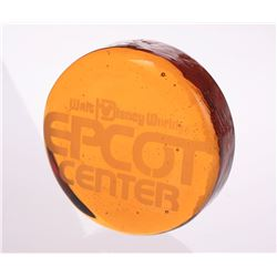 EPCOT Center Glass Paperweight.