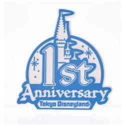 "Tokyo Disneyland ""1st Anniversary"" Cast Member Pin."
