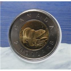 Official First Day 10th Anniversary $2 Coin