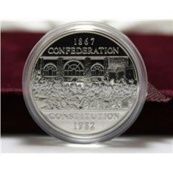 1982 Canada Constitution Dollar, In Original Case