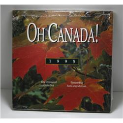1995 Canada Oh Canada! Uncircualted Coin Set - Sealed