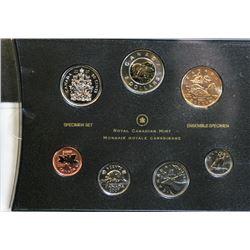 2007 Canada Specimen Coin Set