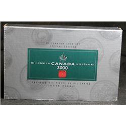 2000 Canada Millennium Special Edition Quarter Set