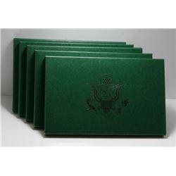 Lot of 5 USA Proof Mint Sets - 1994 - 1998
