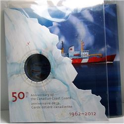 2012 Canada 25-Cent Coin - Celebrating 50 Years of the Canadian Coast Guard