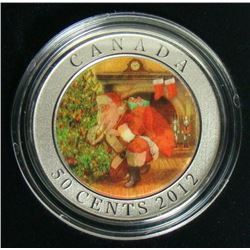 2012 Canada 50-Cent Coin - Santa's Magical Visit
