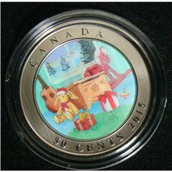 2015 Canada 50-Cent Coin - Holiday Toy Box