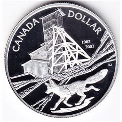 2003 Canada Proof Silver $1 Dollar Coin