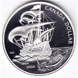 2004 Canada Proof Silver $1 Dollar Coin