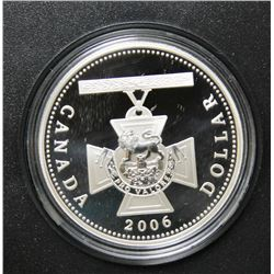 2006 Canada Proof Fine Silver $1 Dollar Coin