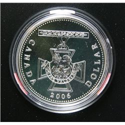 2006 Canada Fine Silver Brilliant Uncirculated $1 Dollar
