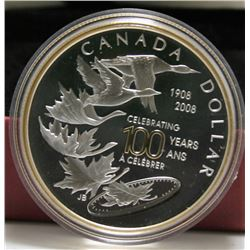 2008 Canada Special Edition Proof Silver $1 Dollar - Century of Growth & Transformation