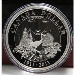 2011 Canada Proof Silver $1 Dollar Coin - 100 Years of Parks Canada