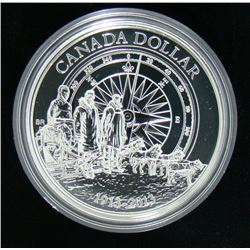 2013 Canada Brilliant Uncirculated $1 Dollar Coin - Fine Silver