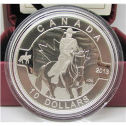 2013 Canada $10 Fine Silver Coin - Royal Canadian Mounted Police