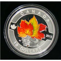 2013 Canada $10 Fine Silver Coin - Maple Leaf