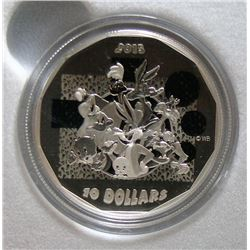 2015 Canada $10 Fine Silver Looney Tunes Coin - That's All Folks