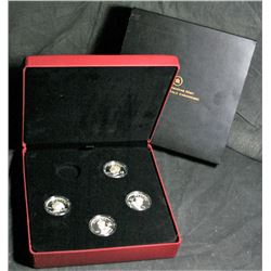 Vignettes of Royalty Silver Coin Collection - 4 of 5 in Set