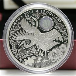2014 Canada $15 Fine Silver Coin - Maple of Longevity